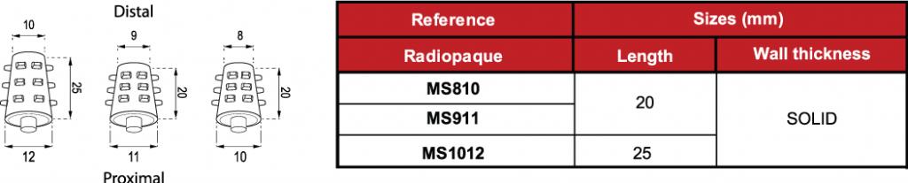MS03 Spigot Bronquial